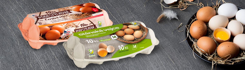 česká podestýlková vejce ovus